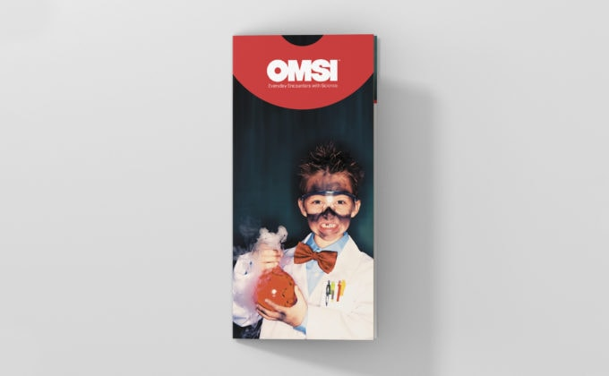 OMSI Visitor Bifold; Cover