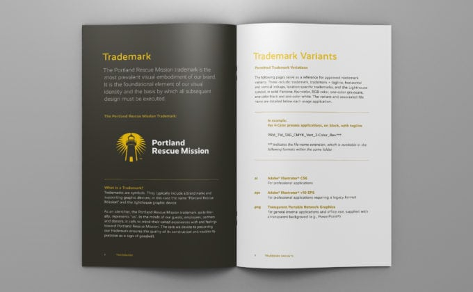 Portland-Rescue-Mission Brand Guidelines; Trademark Guidelines