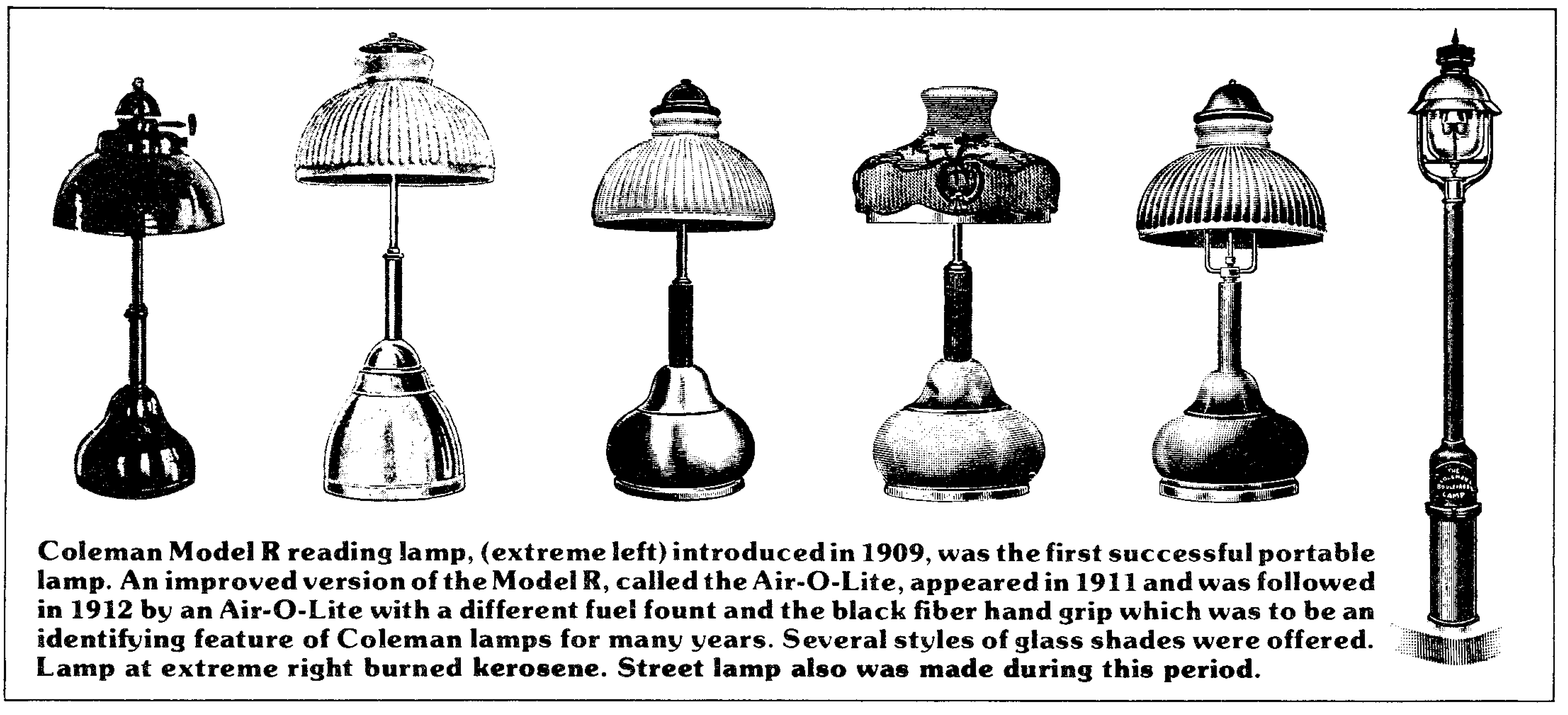 Coleman: First Lamp