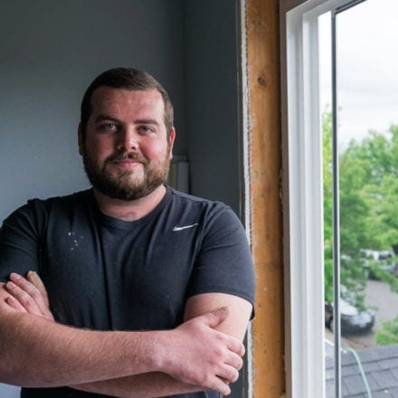 DaBella Environmental Portraits; Contractor Portrait
