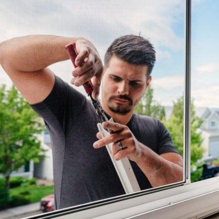 DaBella Environmental Portraits; Window Repair by Contractor