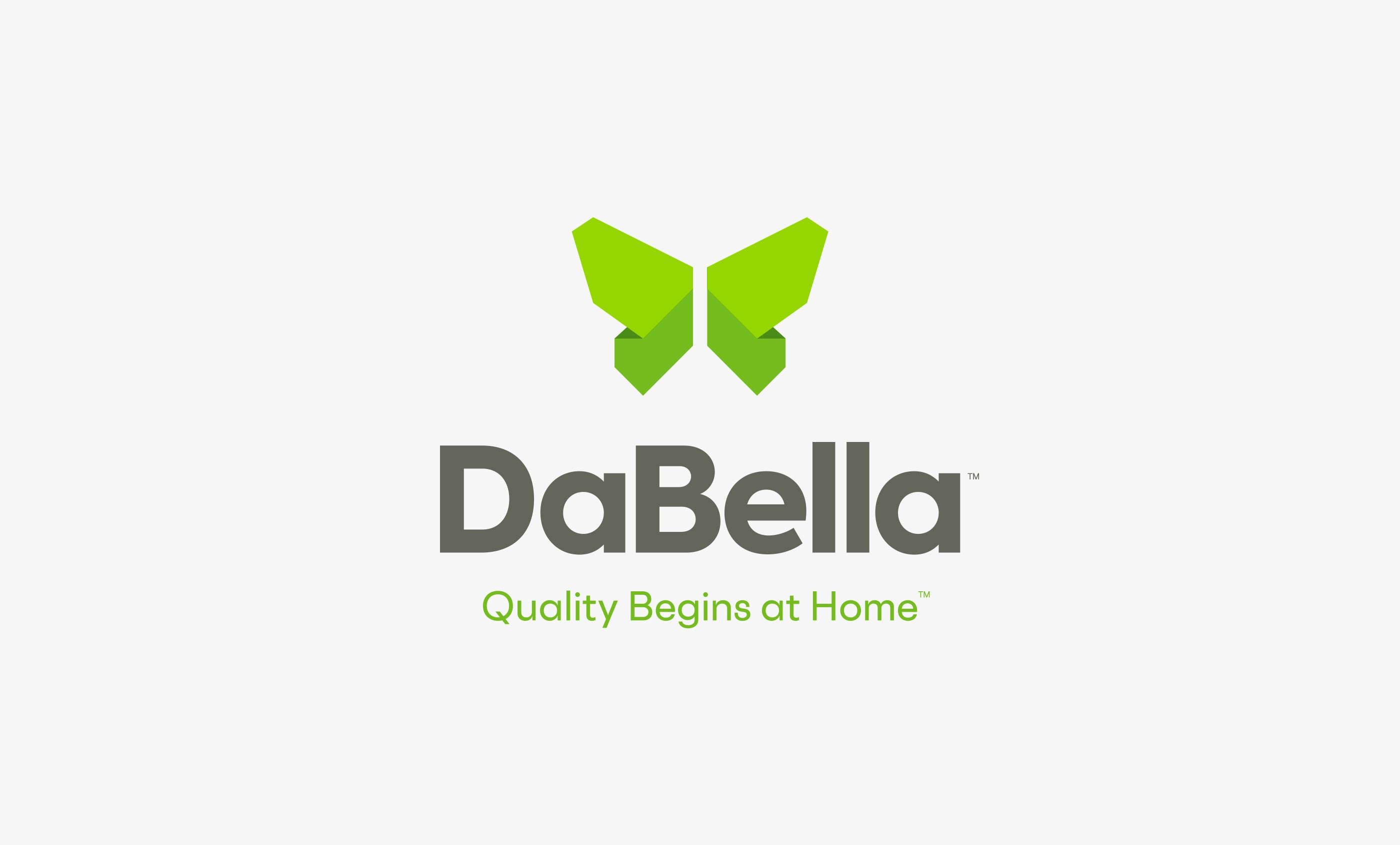 DaBella Logo and Tagline