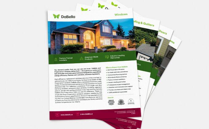 DaBella Service Sheets