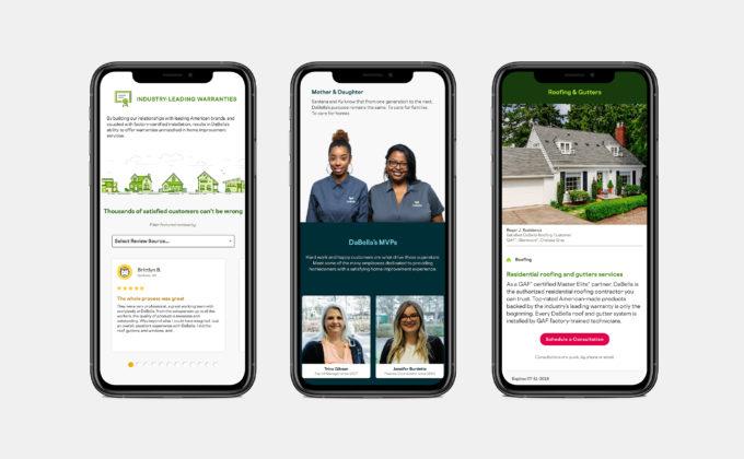 DaBella Website Mobile Site, Warrenties