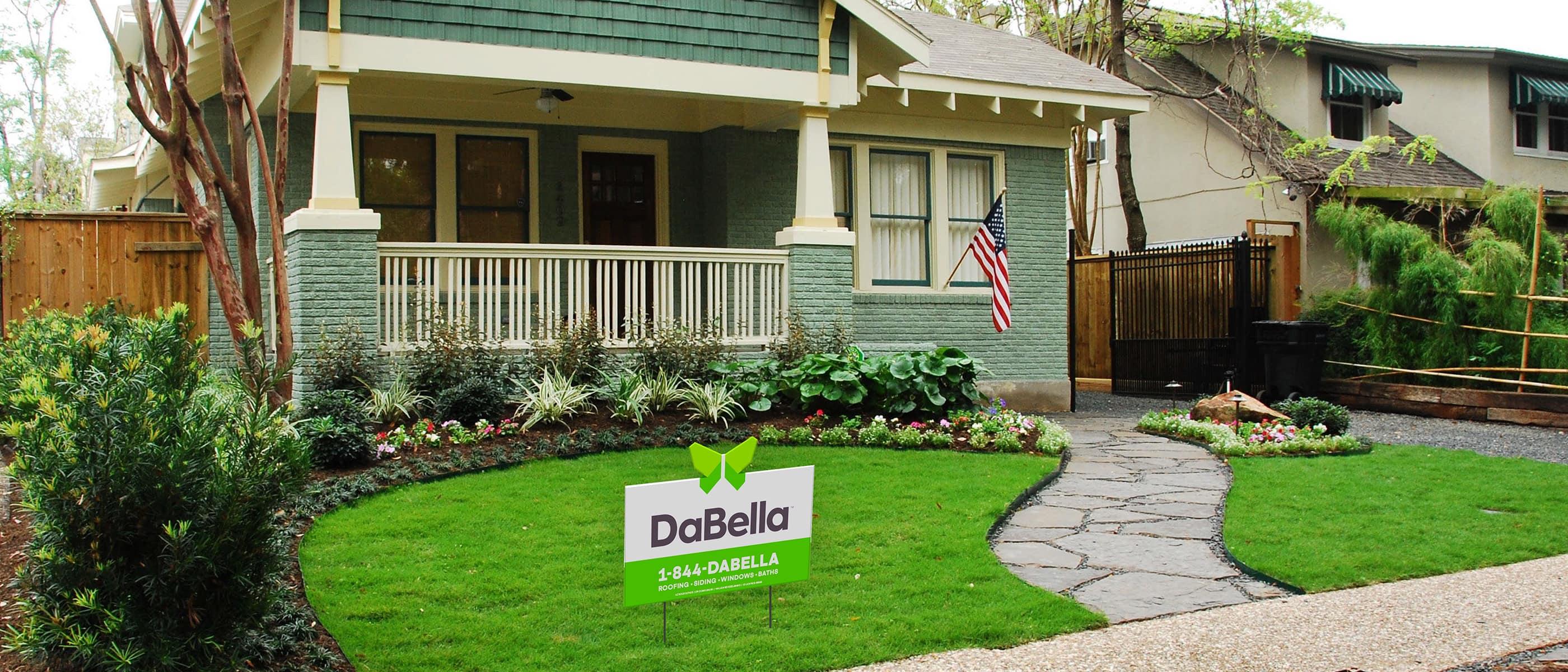 Dabella yard sign