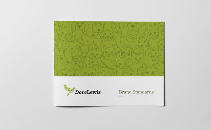 DoveLewis, Brand Guidelines Cover