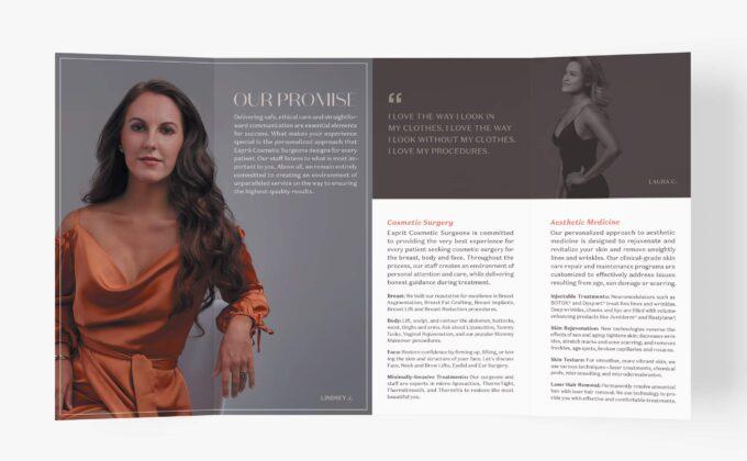 Esprit Brochure Spread