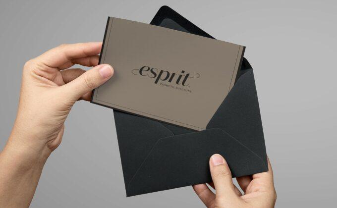 Esprit Correspondence Card