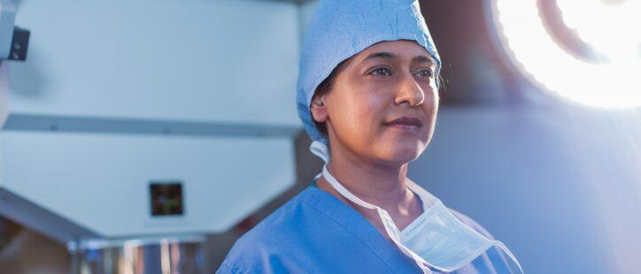 IntraOp Surgeon Photograph