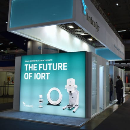 IntraOp Tradeshow Design, Image-Guided Electron Therapy