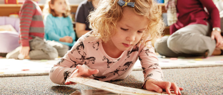 Kindercare Photography - Child Reading