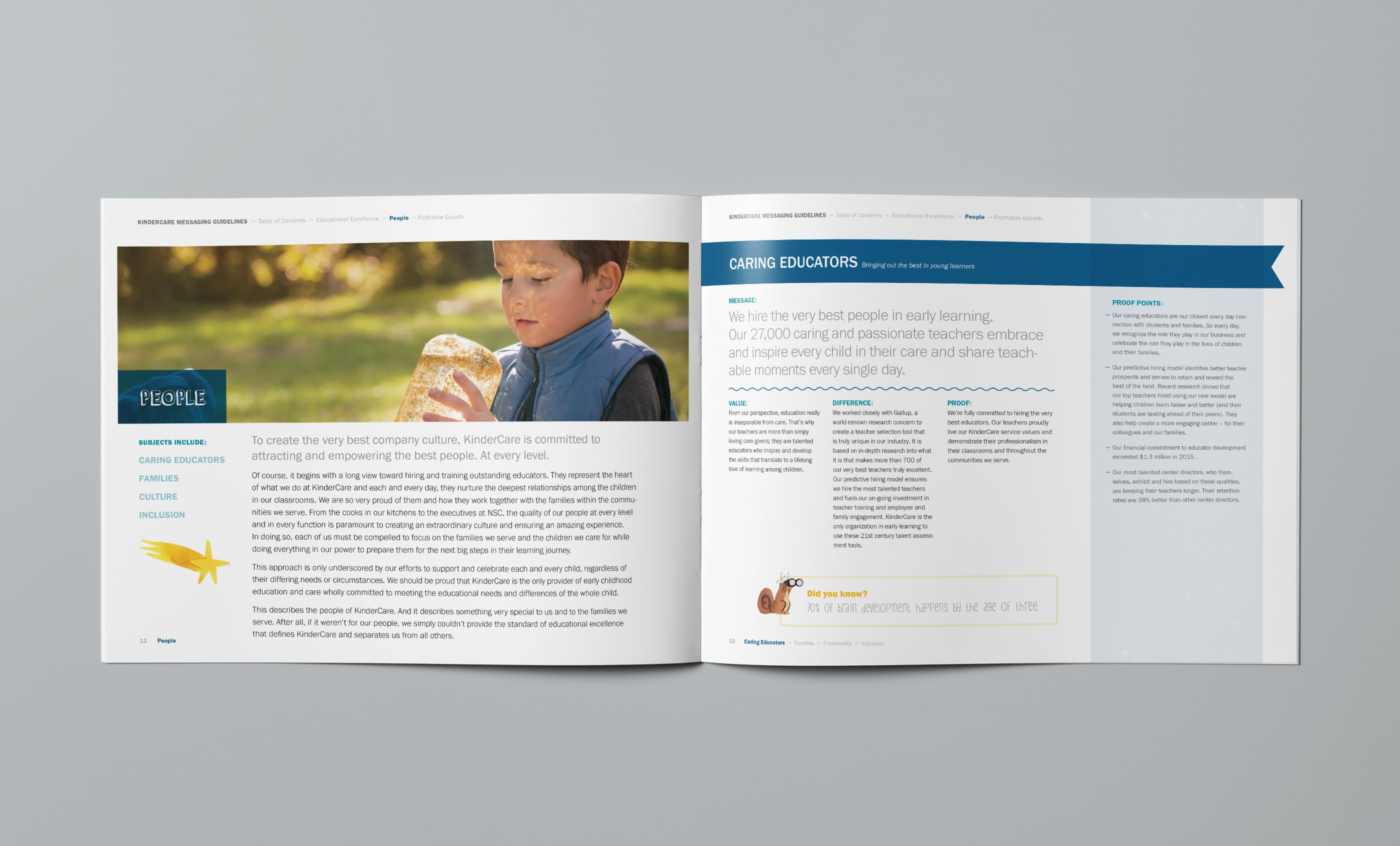 Messaging Guide: Caring Educators