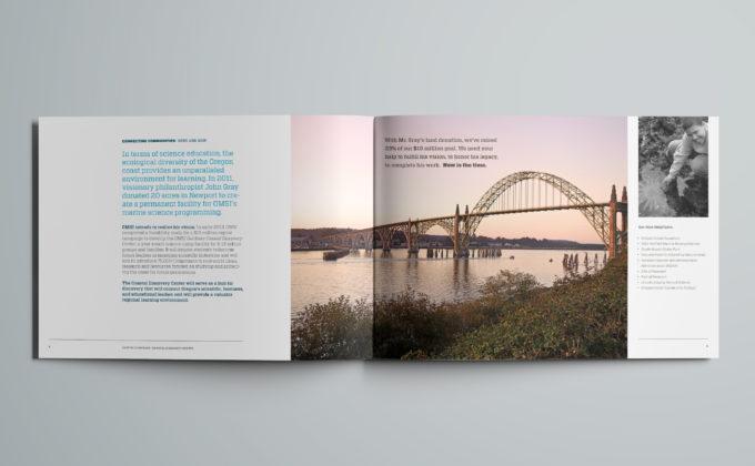 OMSI Capital Campaign Materials Brochure Detail