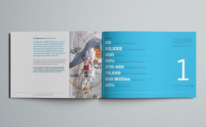 OMSI Capital Campaign Materials Brochure Spread