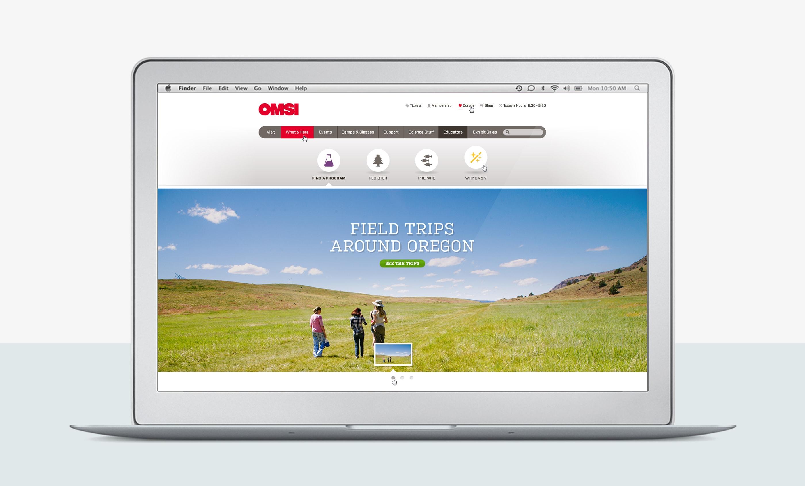 OMSI Edu Website