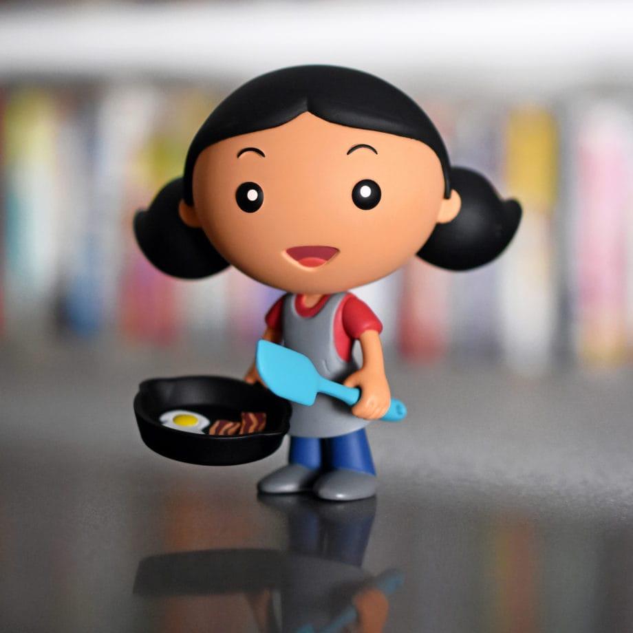 Michelle's action figure
