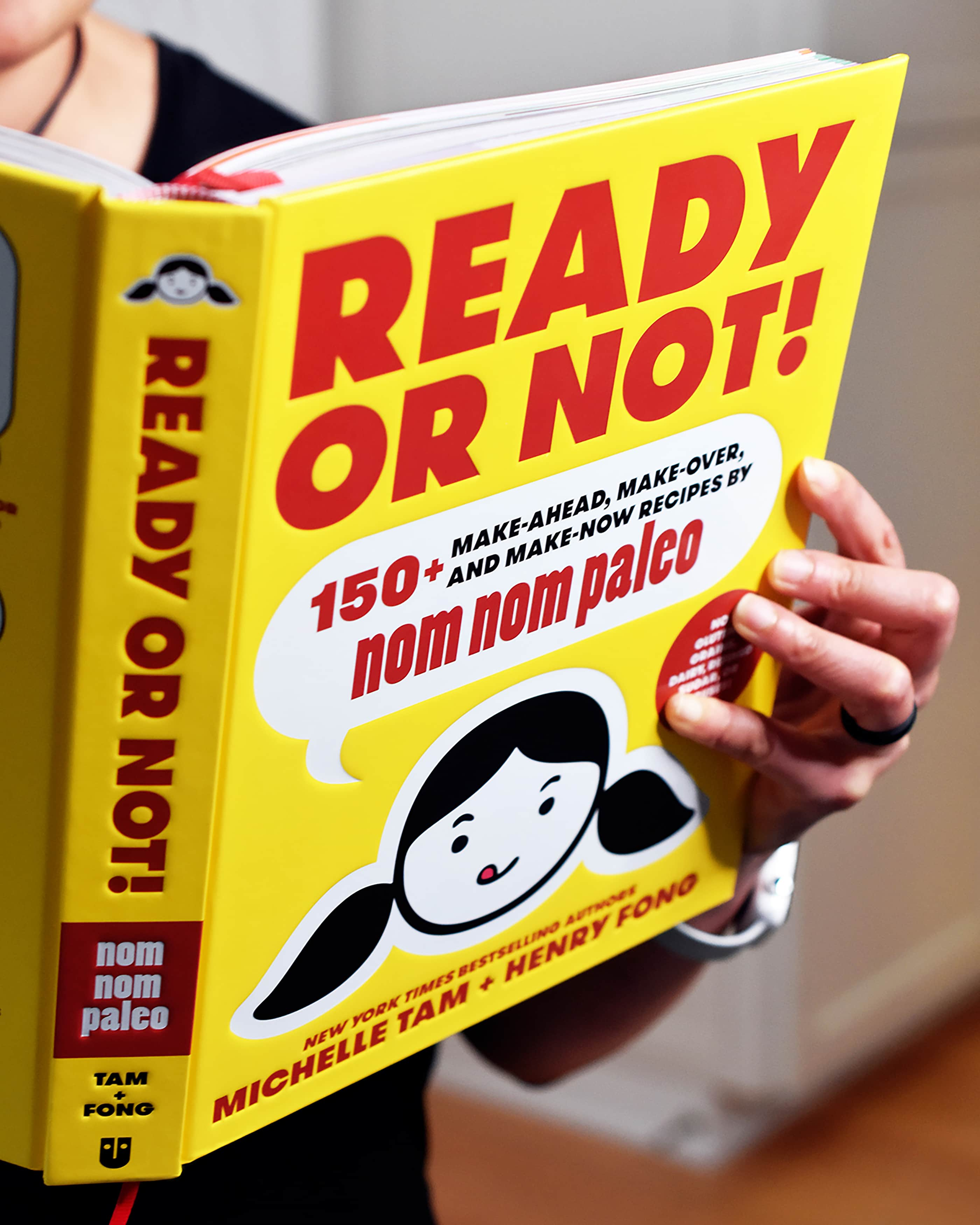"""Ready or Not!"", Michelle and Henry's latest cookbook"