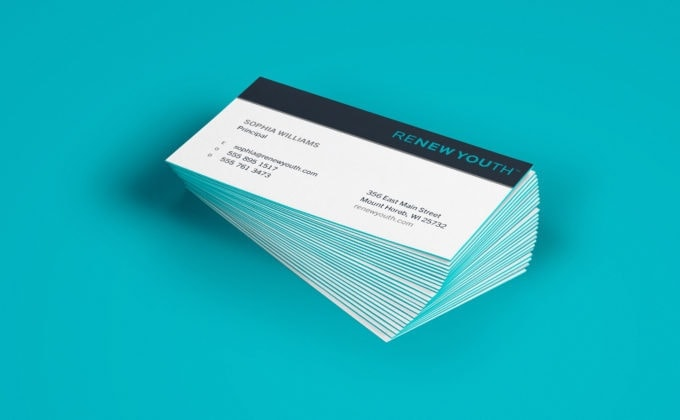 Renew Youth Business Cards