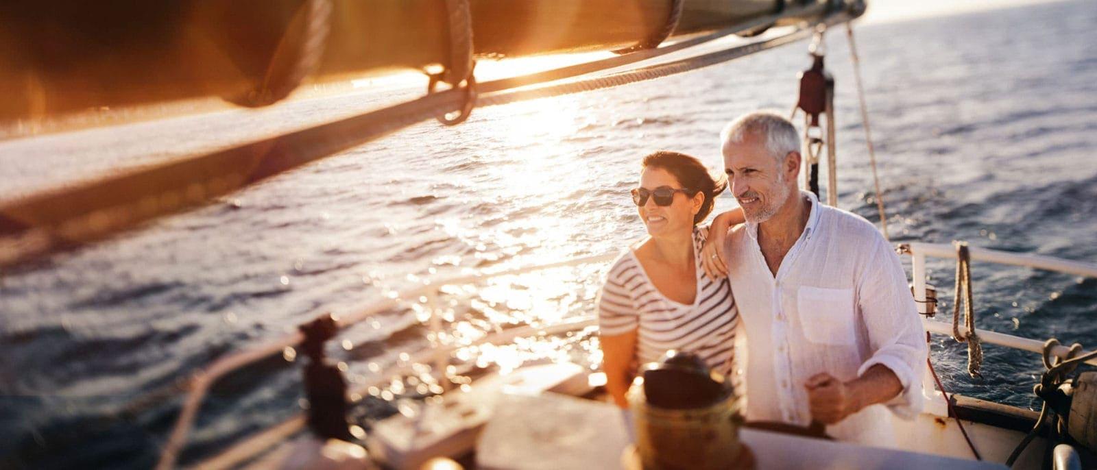 Renew Youth Sailing Couple Photo