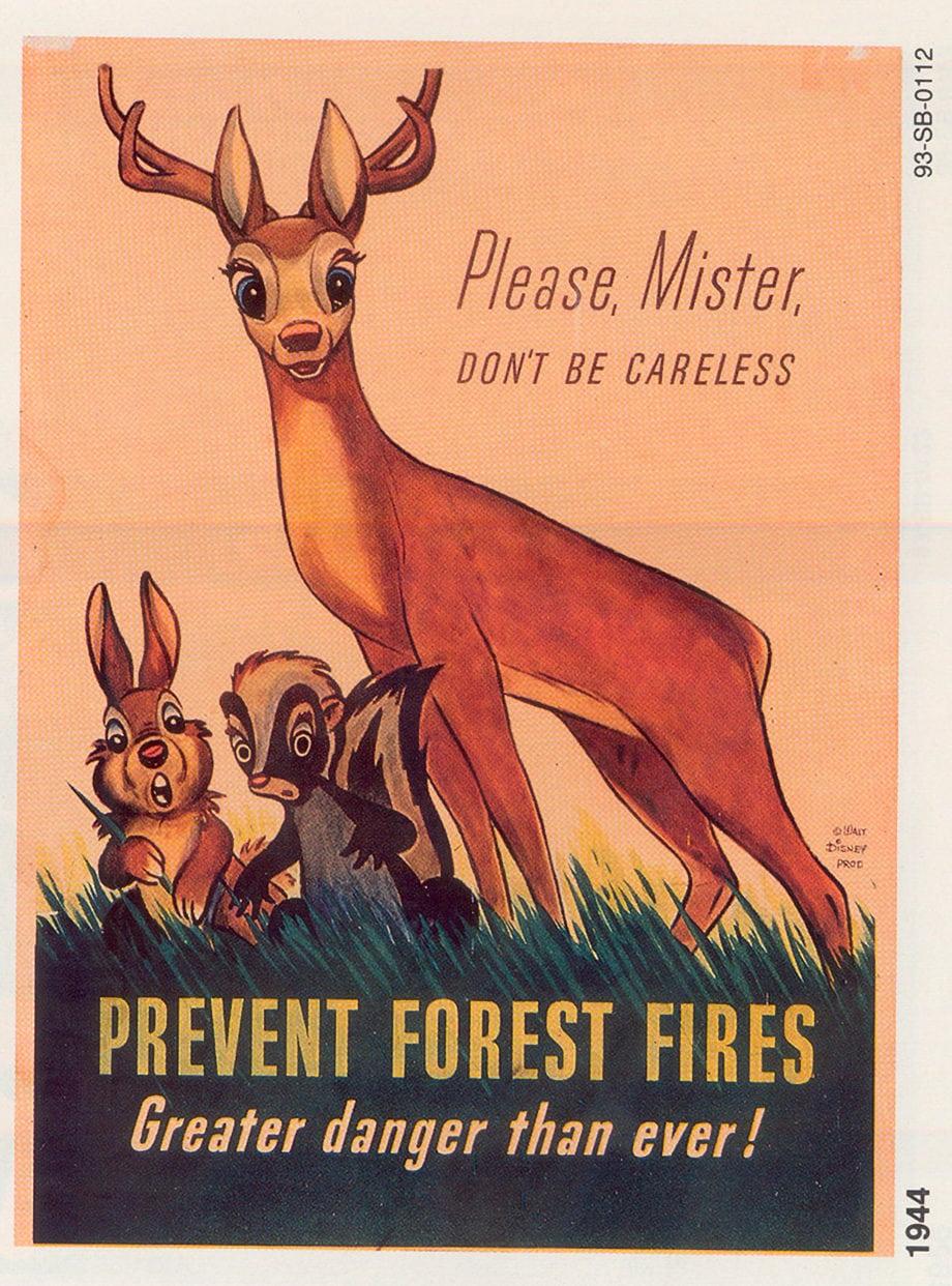 Bambi, Smokey's predecessor