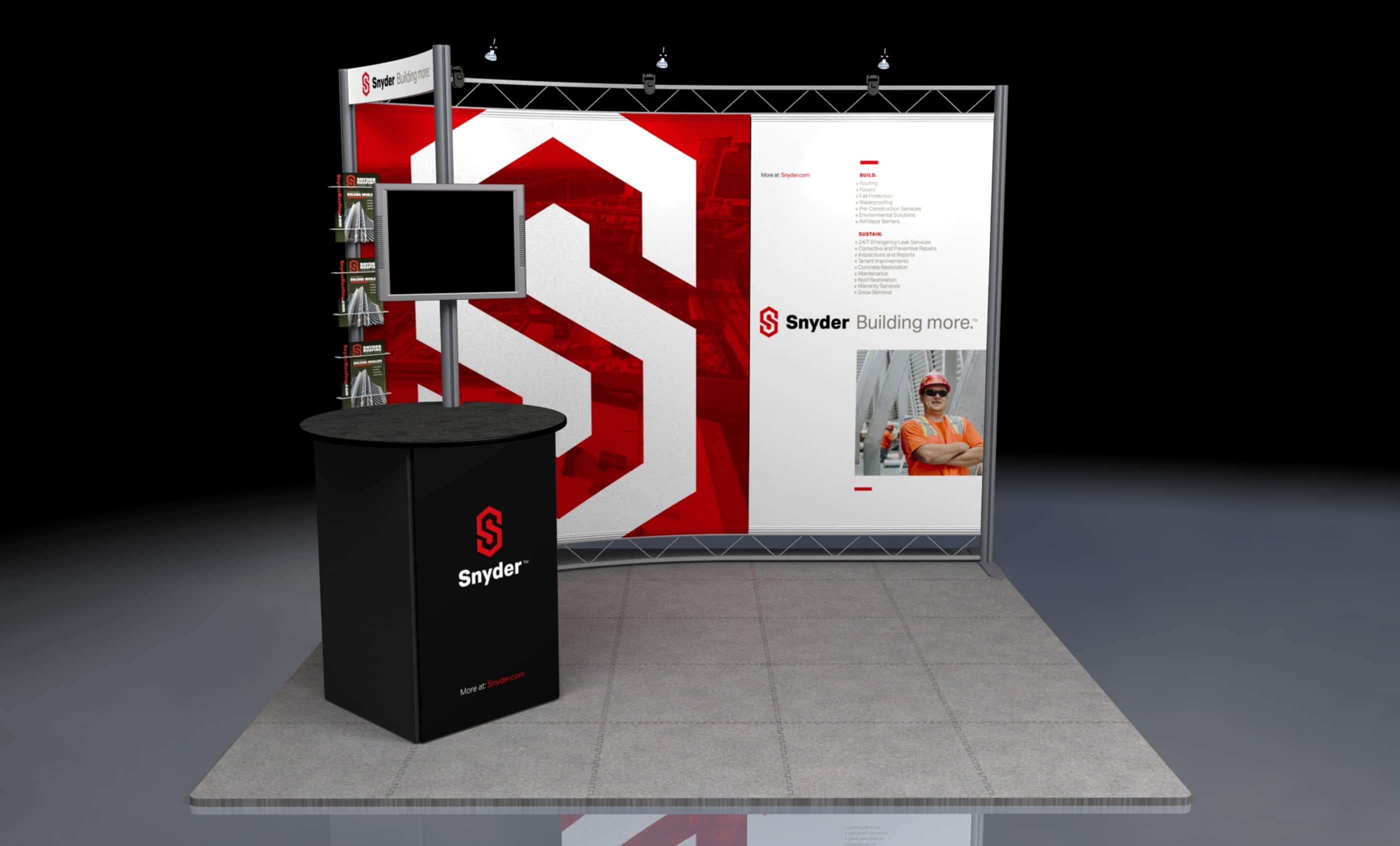 Snyder Tradeshow Rendering, Closeup
