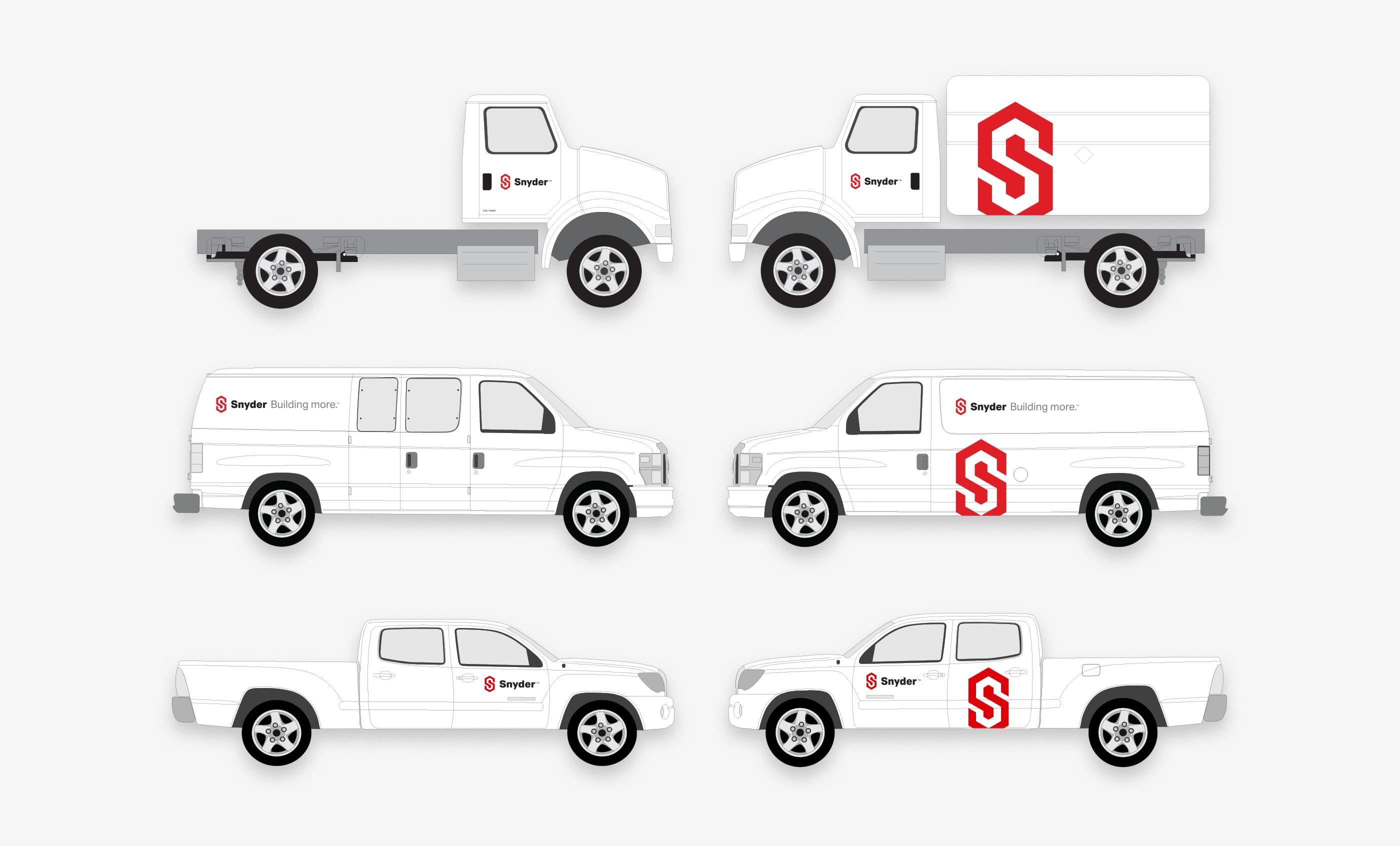 Snyder Vehicle Wrap