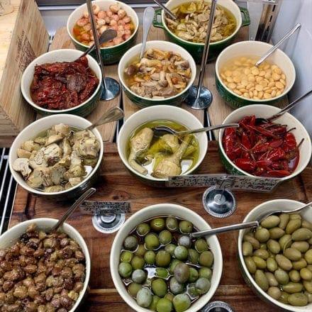 Tempesta Market, condiments