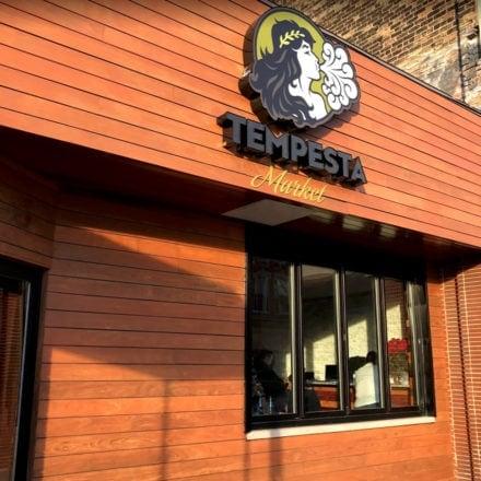 Tempesta Market, Logo Signage