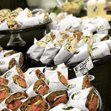 Tempesta Market, Roast Beef Sandwiches