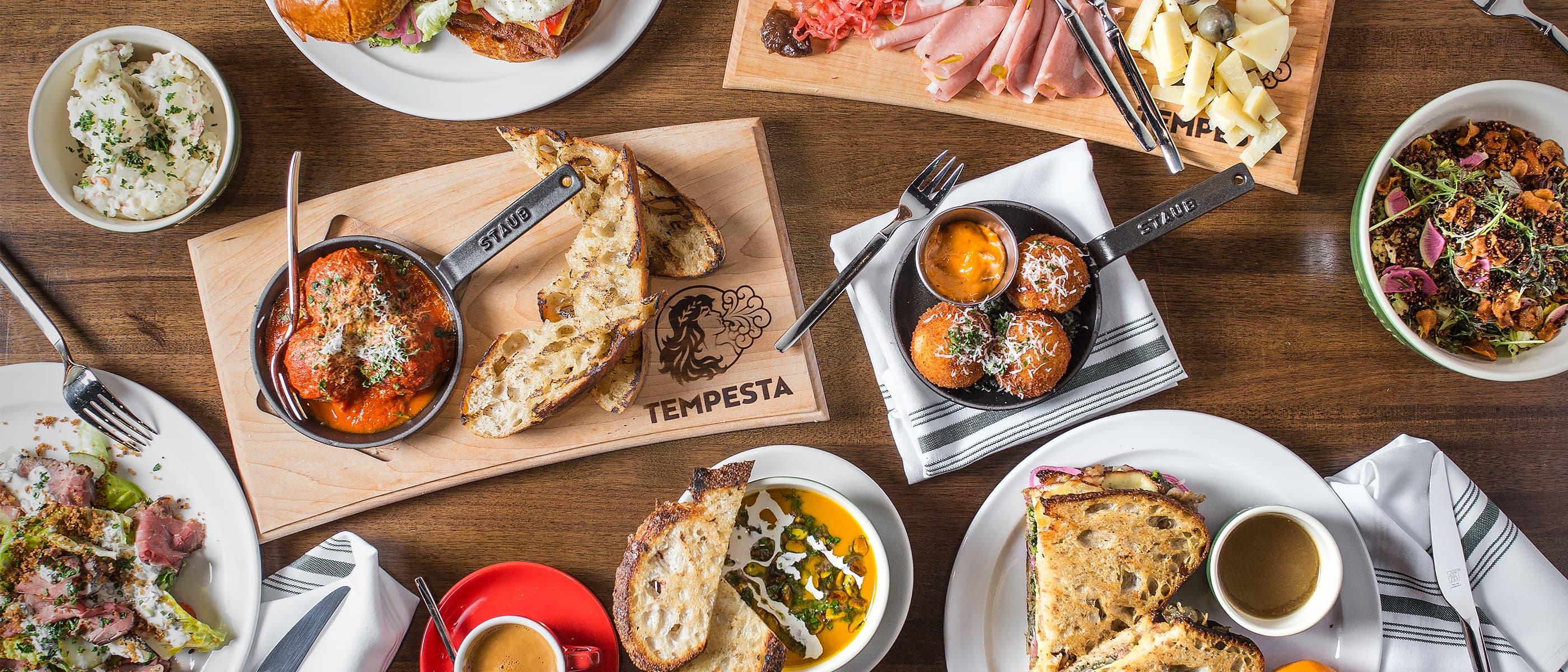 Tempesta Spread - Overview Shot
