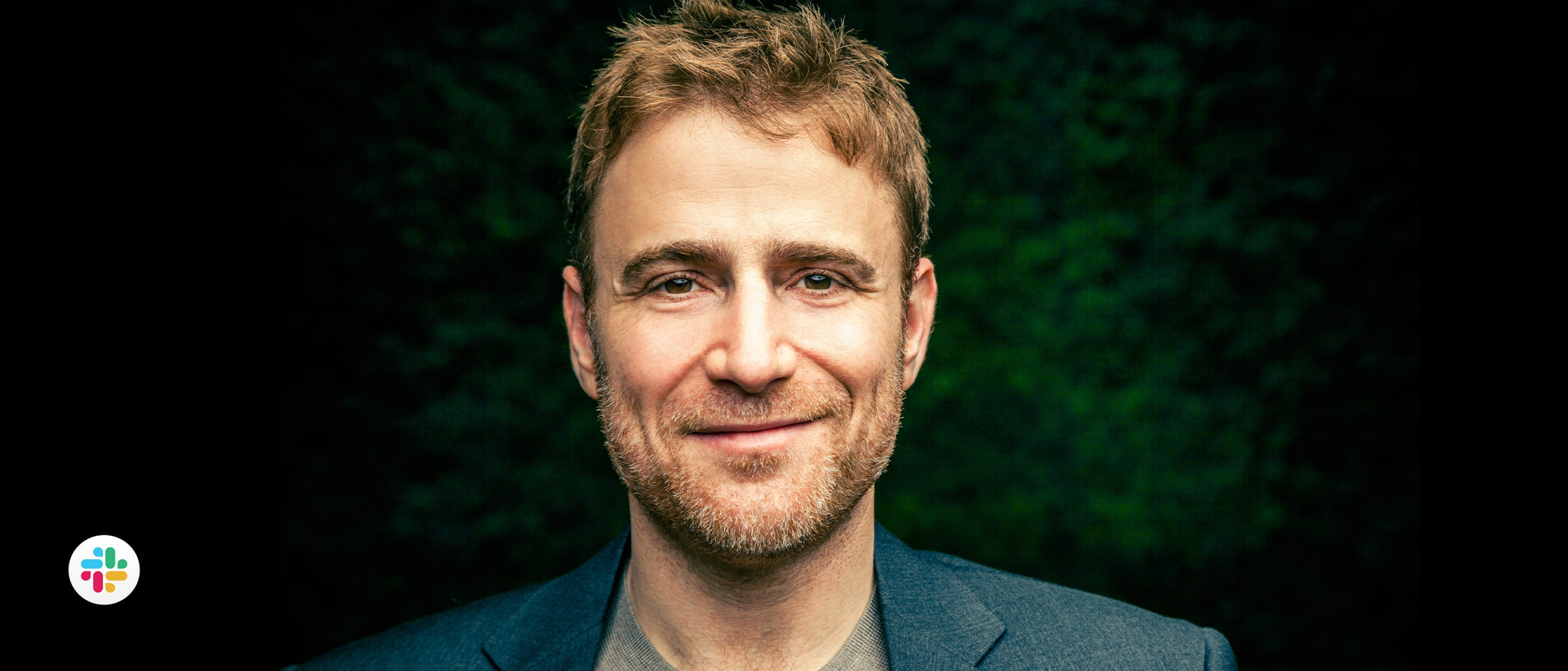 Portrait of Stewart Butterfield, CEO and co-founder