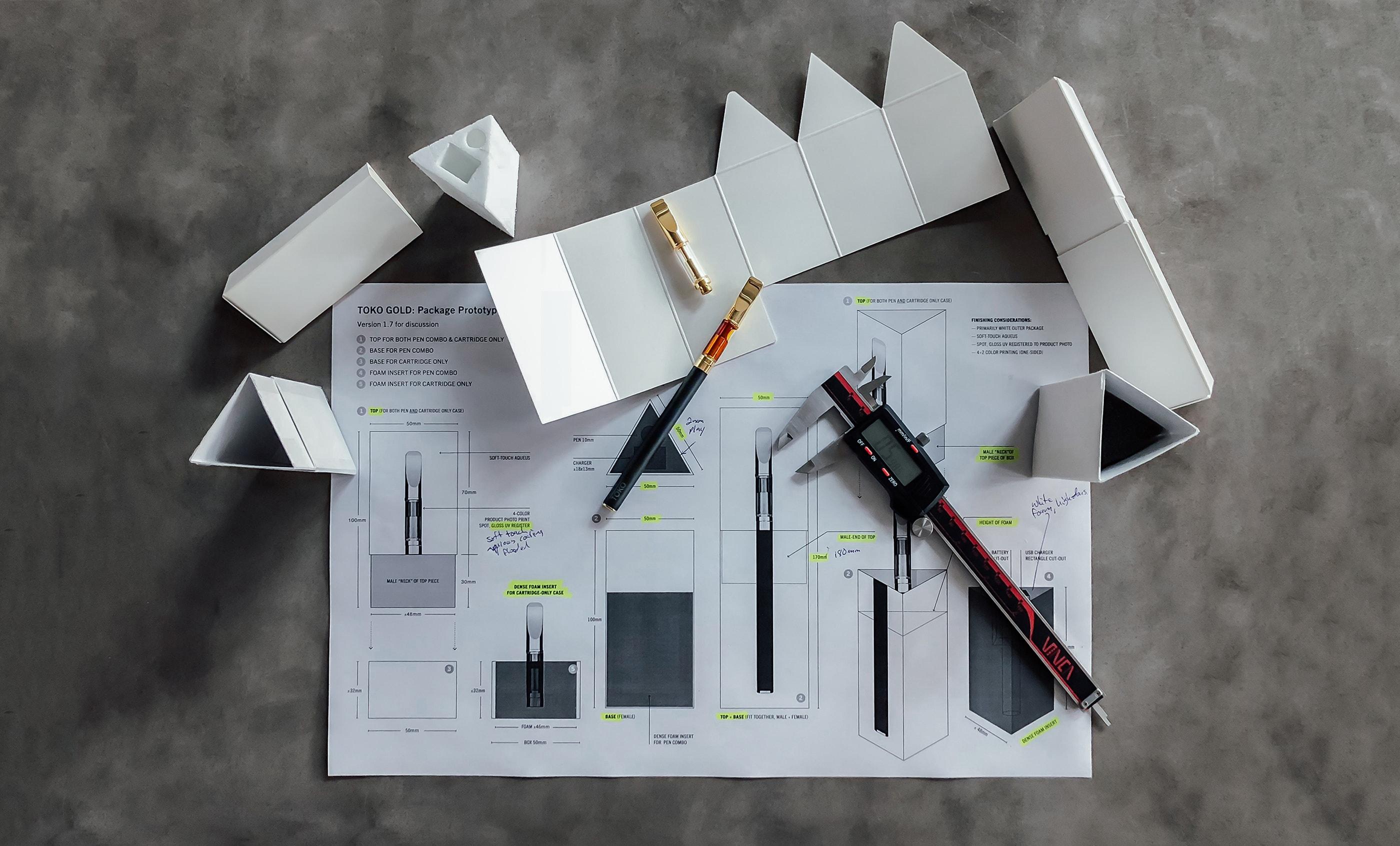 Toko Packaging Design Process