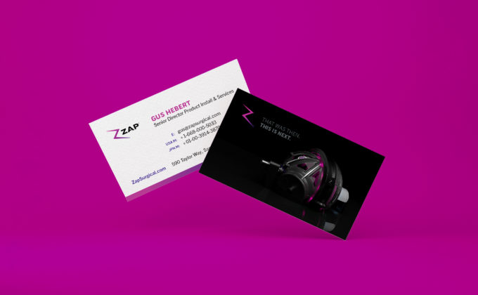 ZAP Business Cards